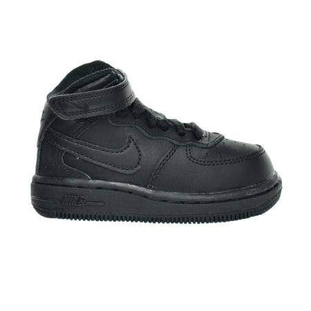 Nike Air Force 1 Mid  Td  Baby Toddlers Black 314197 004