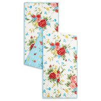 "The Pioneer Woman Sweet Rose Quilted Table Runner, 14"" x 72"""