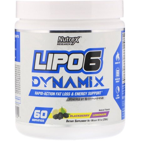 Nutrex Research  Lipo-6 Dynamix  Blackberry Lemonade  9 1 oz  258 g