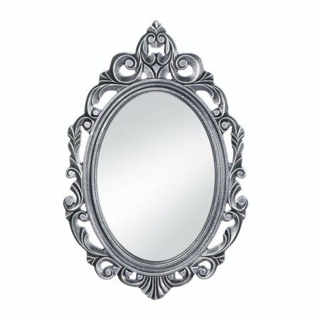 Spirit Halloween Clown Mirror (Bathroom Wall Mirrors, Decorative Oval Rustic Silver Royal Crown Wall)