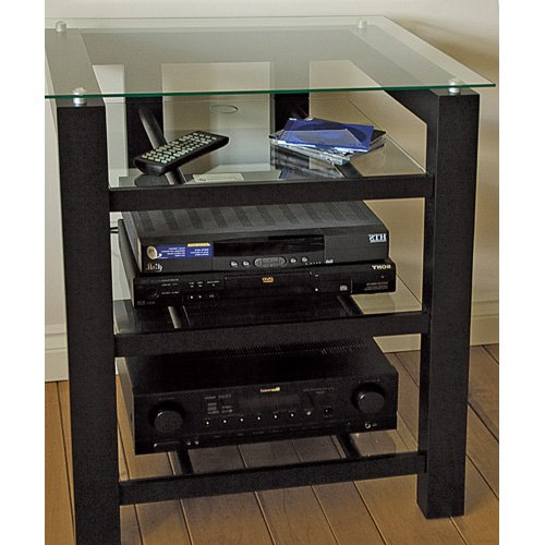 Plateau SL-4A Audio Rack TV Stand in Black by Plateau Corporation