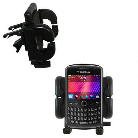Gomadic Air Vent Clip Based Cradle Holder Car / Auto Mount suitable for the Blackberry Curve 9360 - Lifetime Warranty