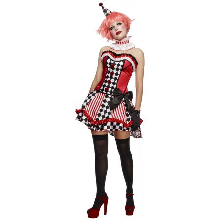 Clown Cutie Adult Costume - Large