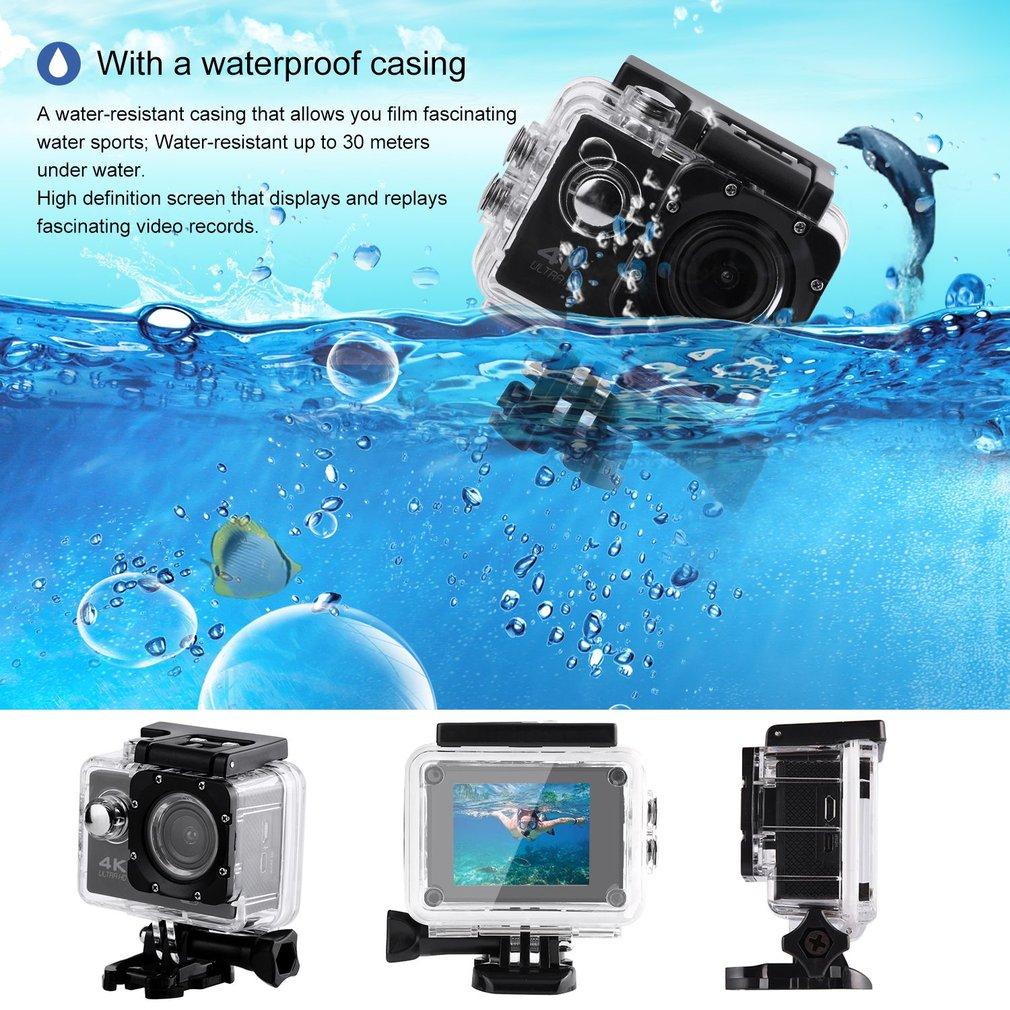 SJ60 Action Camera Waterproof 4K Wifi HD 1080P Ultra Sports Action ...