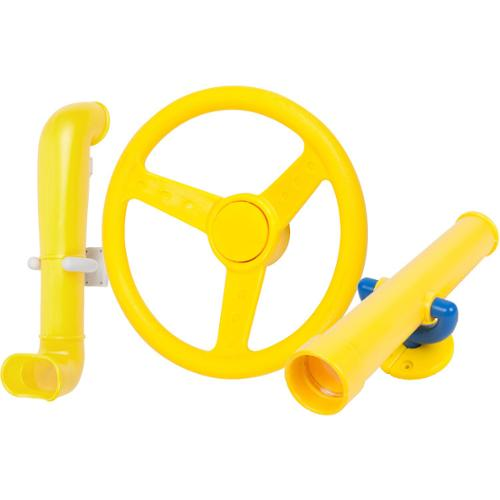 Swing Set Stuff Periscope, Telescope, and Steering Wheel Kit Yellow