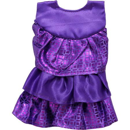holiday time christmas ornaments purple ruffle 18 mini tree skirt