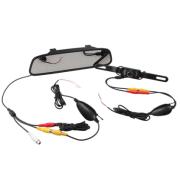 12V 4.3 Inch Car backup camera TFT LCD Monitor Mirror Wireless Reversing Rear View Backup Camera Kit
