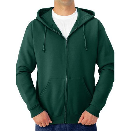 Army Logo Hooded Sweatshirt - Men's NuBlend Preshrunk Fleece Full Zip Hooded Sweatshirt