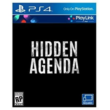 Hidden Agenda [Playlink], Sony, PlayStation 4, 711719514008