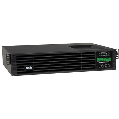Tripp Lite SmartOnline SU1500RTXLCD2U 1500VA Tower Rack Mountable UPS by Tripp Lite