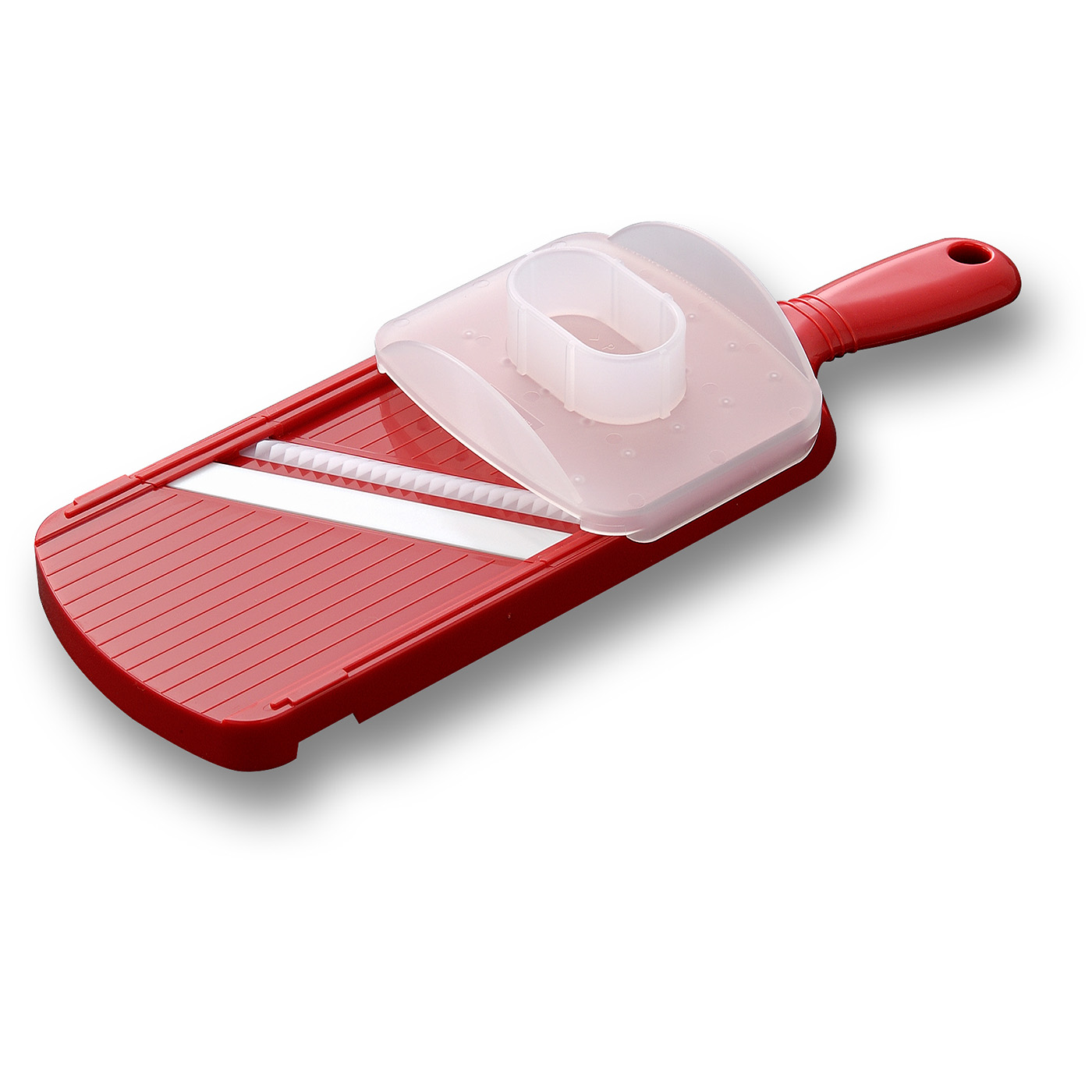 Kyocera Advanced Ceramics Julienne Vegetable Slicer, Red