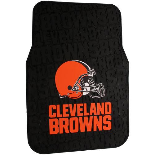 NFL Cleveland Browns Floor Mats - Set of 2