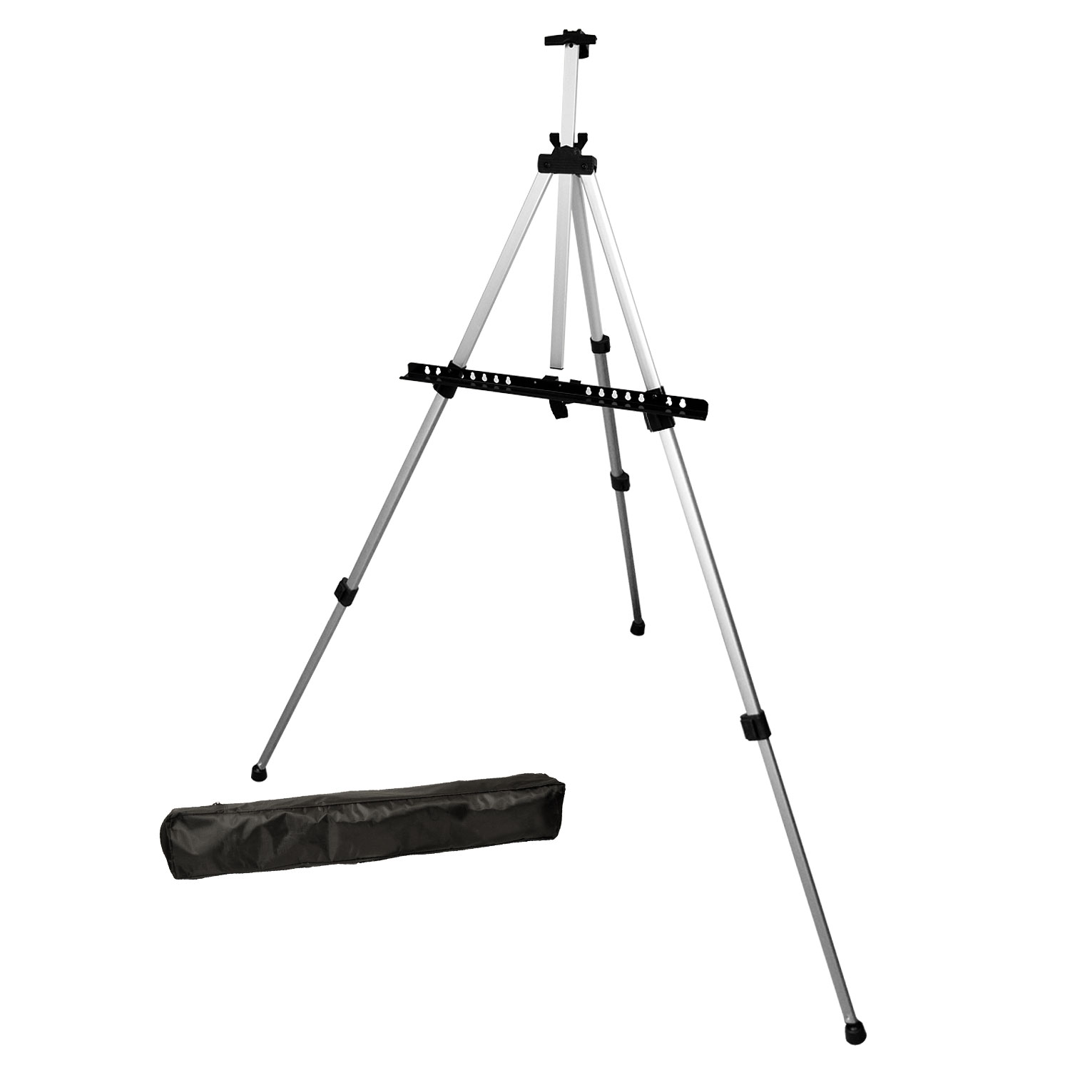 US Art Supply® PISMO Lightweight Aluminum Field Easel FREE BAG Painting
