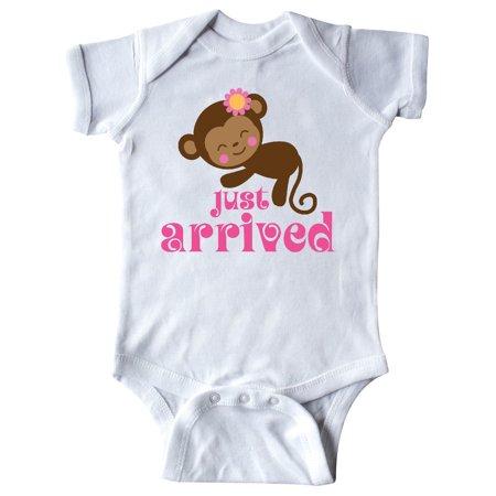 New Baby Girl Cute Monkey Infant Creeper - Monkey Onesie