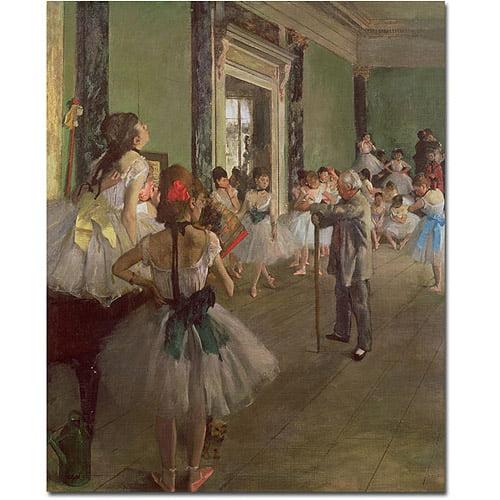 """Trademark Fine Art """"The Dancing Class 1873"""" Canvas Art by Edgar Degas"""
