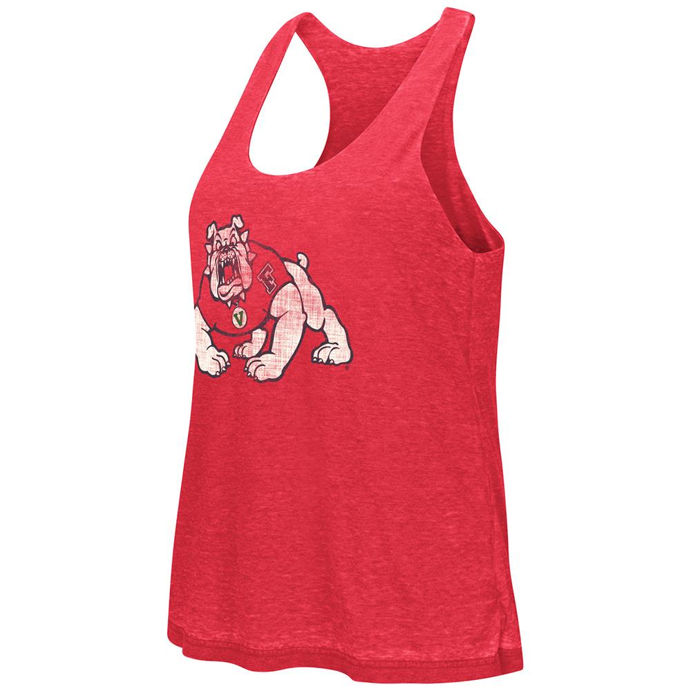 Womens NCAA Fresno State Bulldogs Reversible Tank Top (Team Color)