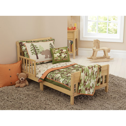 Garanimals Camo Dreams 4-Piece Toddler Bedding Set