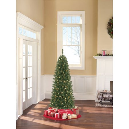 holiday time pre lit 6 instant pull up brooksville spruce artificial christmas tree