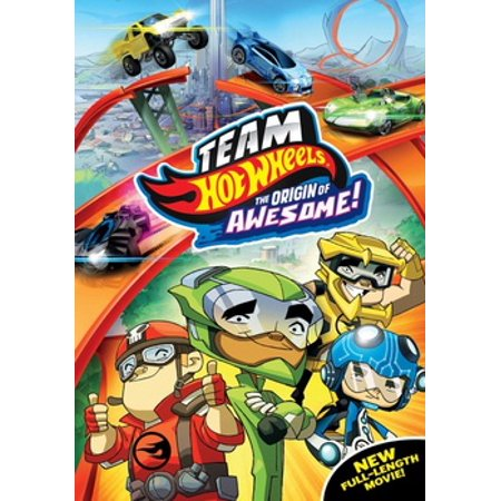 Team Hot Wheels: The Origin of Awesome! (DVD) (Hot Funny Movies)