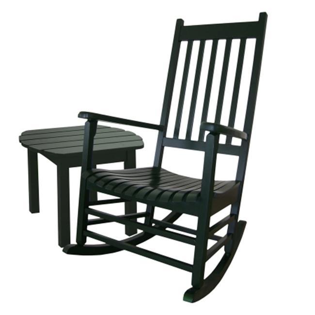 International Concepts K-51865-51901-0 2-Piece Porch Rocker & Table Set