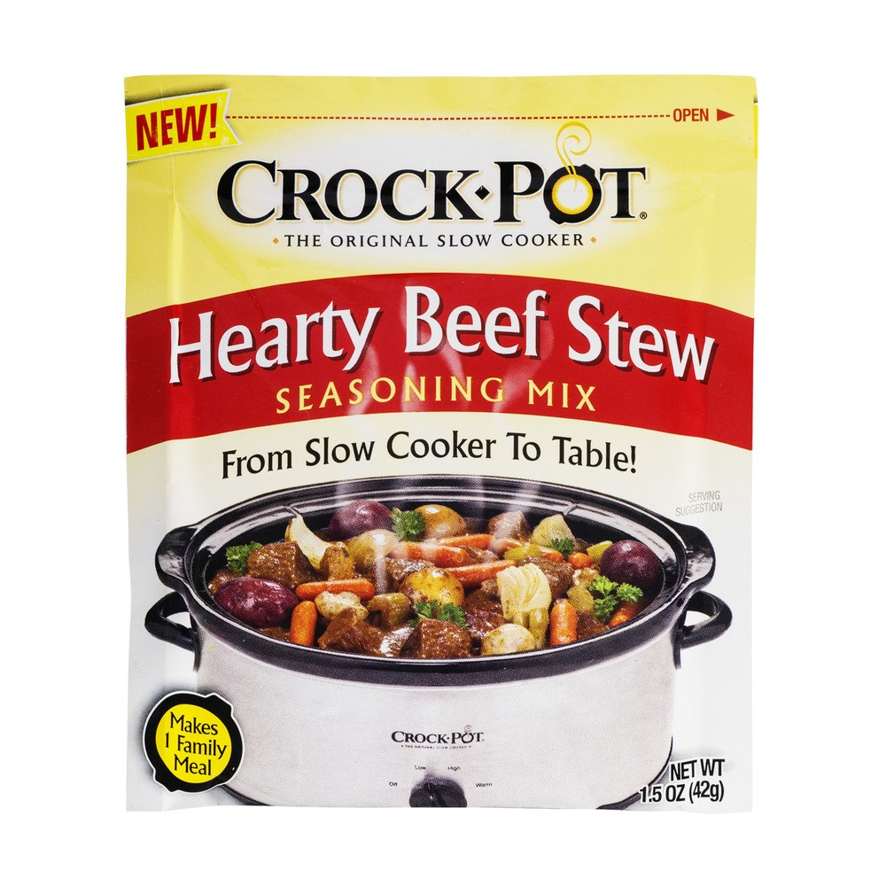 Crock-Pot Hearty Beef Stew Seasoning Mic, 1.5 Oz