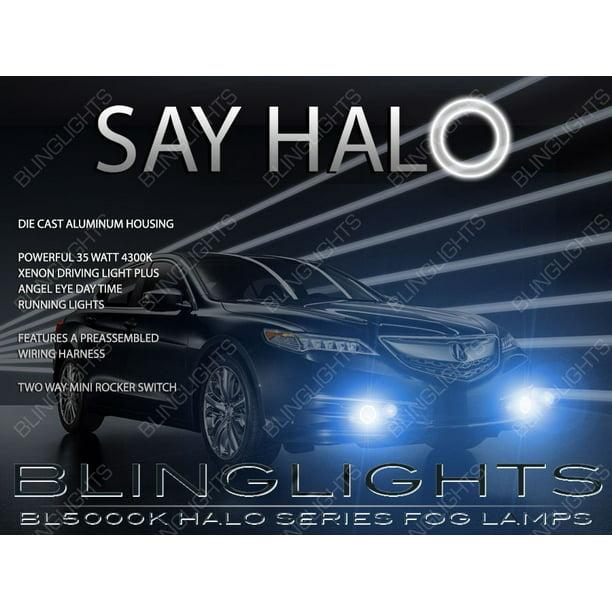 2015 2016 2017 Acura TLX Angel Eye Fog Lights Lamps Kit
