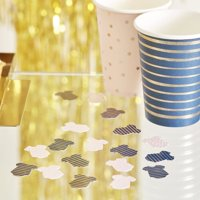 Ginger Ray - Pink & Navy Gold Foiled Baby Grow Table Confetti