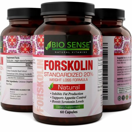 Bio Sense Forskolin Weight Loss Supplement For Men And Women Natural Fat Burner Diet Pills Coleus Forskohlii Extract 60 Capsules