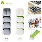 Drawer Organizer Storage Cutlery Spoon Tray Utensil Kitchen Tidy Store Box
