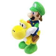 """Little Buddy LLC, Luigi Riding Yoshi 8"""" Plush"""