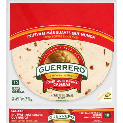 Guerrero® Burrito Flour Tortillas 10 ct. Bag