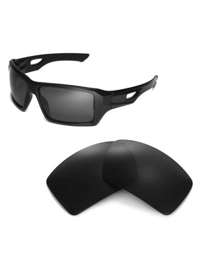 f5f61f62b2d Product Image Walleva Black Polarized Replacement Lenses for Oakley  Eyepatch 2 Sunglasses