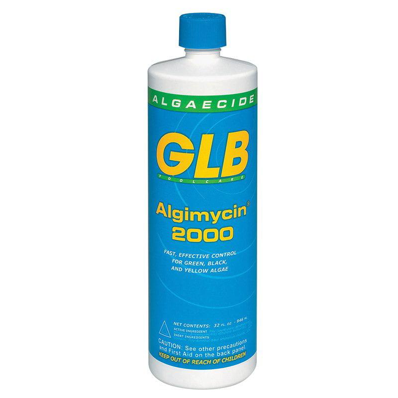 GLB Algimycin 2000 1-Quart Algaecide for Swimming Pools