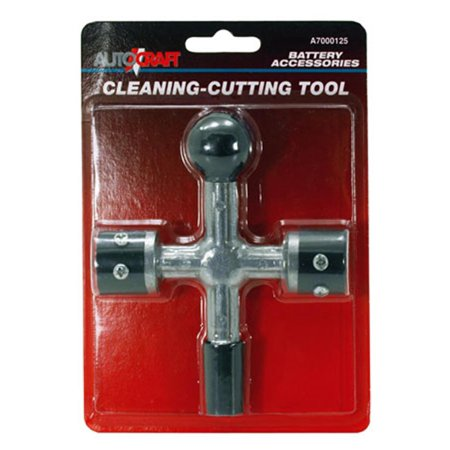 Cal Hawk Tools 4-Way Battery Post and Terminal Cleaner