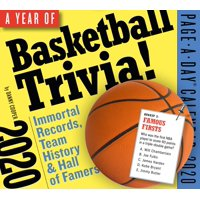 A Year of Basketball Trivia! Page-A-Day Calendar 2020 (Other)