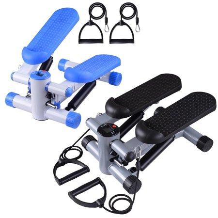 Ghp Blue 220 46lbs Max Cacpacity Skid Free Pedal Stepper