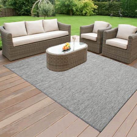 Ottomanson Sundance Collection Indoor & Outdoor Reversible Area or Runner Rugs (Outdoor Indoor Rug)