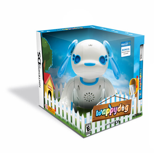 Wappy Dog with Interactive Toy and Walmart Exclusive Bonus Stylus (DS)
