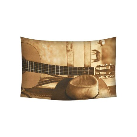 CADecor American Country Music Wall Tapestry Wall Hanging Wall Art Home Decor 40x60 inches](Country Music Decor)