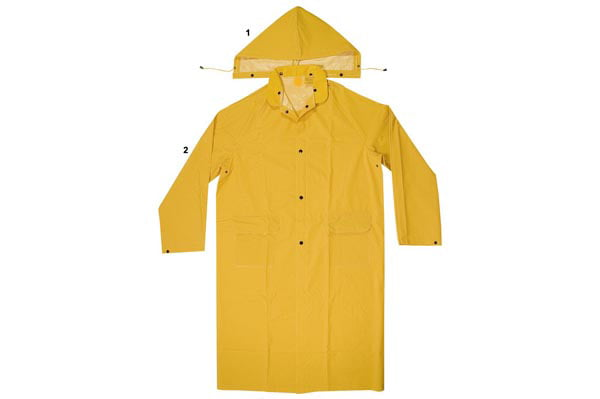 Enguard 2pc Yellow Raincoats, 2XL 2 Pack by Supplier Generic