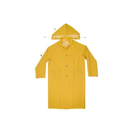 - Enguard 2pc yellow raincoats, 3xl - 2 pack