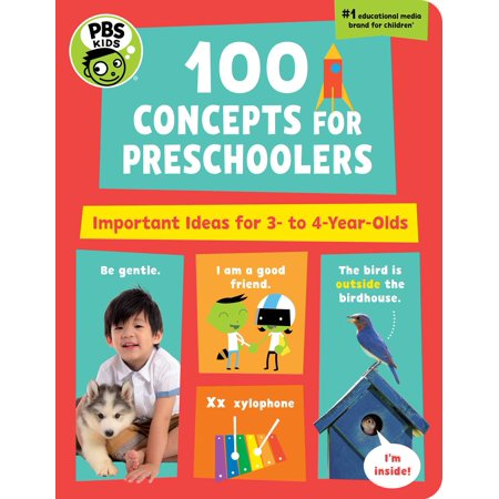 100 Concepts for Preschoolers Important (Board Book) - Halloween Project Ideas For Preschoolers