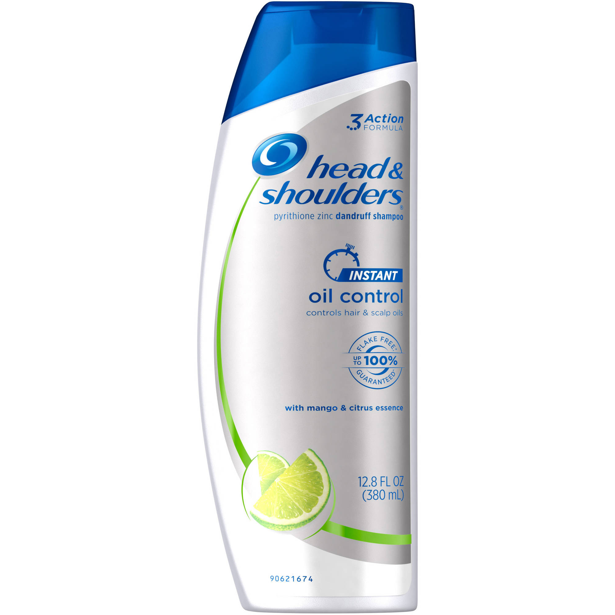 Head & Shoulders Instant Oil Control Dandruff Shampoo, 12.8 fl oz