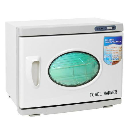 (26L 2in1 UV Sterilizer 50-60 Towels Warmer Hot Cabinet Spa Salon Heater Manicure Beauty Tool)