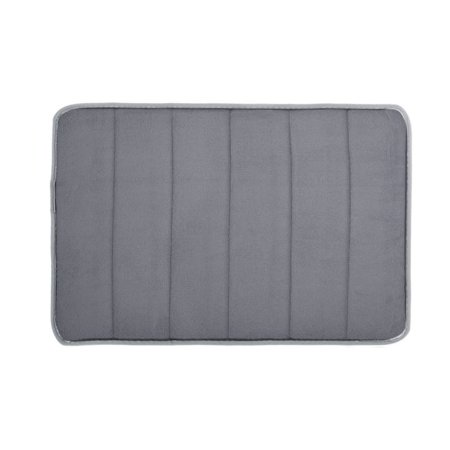 Absorbent Soft Memory Foam Bath Bathroom Bedroom Floor Shower Mat Non-slip Rug ()