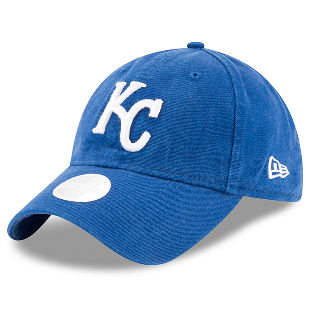 New Era Kansas City Royals Women's Royal Preferred Pick 9TWENTY Adjustable Hat - OSFA