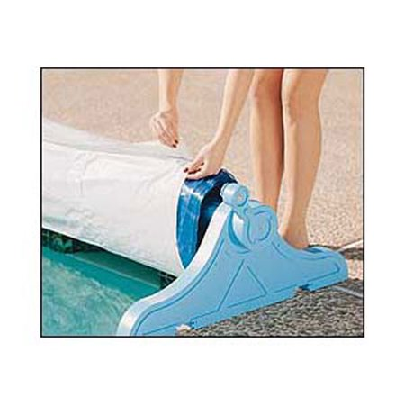 Poly Tarp Swimming Pool Solar Blanket Protective Cover - 24 Feet Wide ()