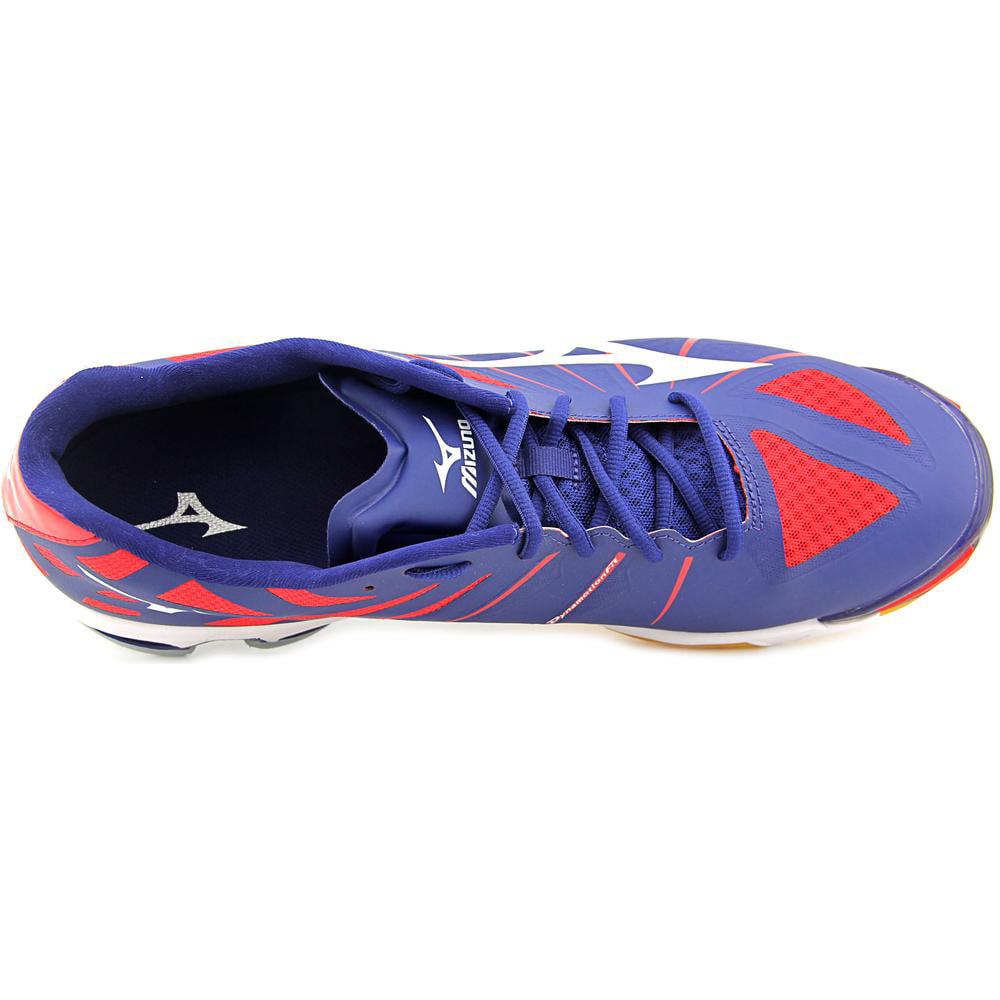 Mizuno Men's Wave Lightning Z M Black/Grey/Yellow Ankle-High Tennis Shoe - 14M