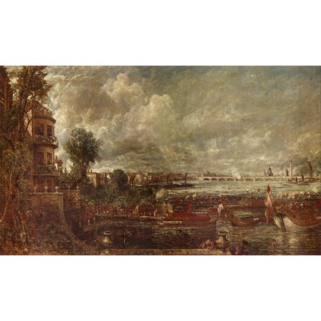 Framed Art for Your Wall Constable, John - Waterloo Bridge From Whitehall Stairs 10 x 13 Frame