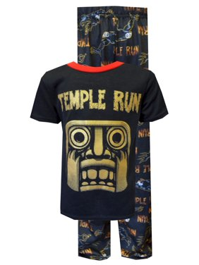 Temple Run Black Pajamas